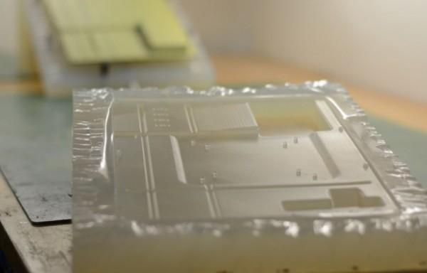 Silikonová forma na vakuové lití