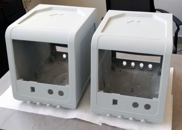 Prototypové kryty laboratorních přístrojů