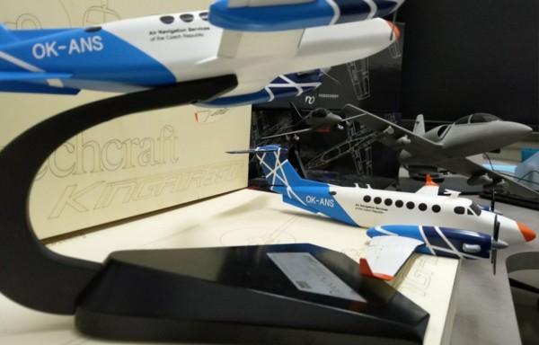 KingAir 350i - Kamufláž Řízení letového provozu