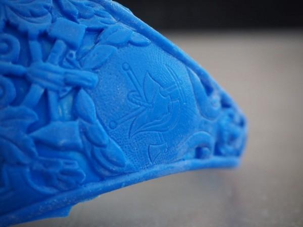Detail voskových modelů